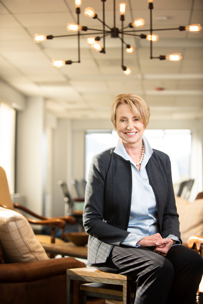Wendy Simpson, CEO of LTD Properties. Shot for REIT Magazine.