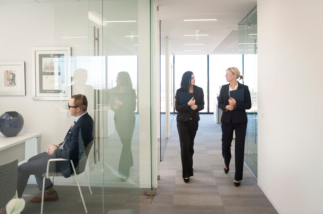 Business lifestyle photography for Corient Capital.