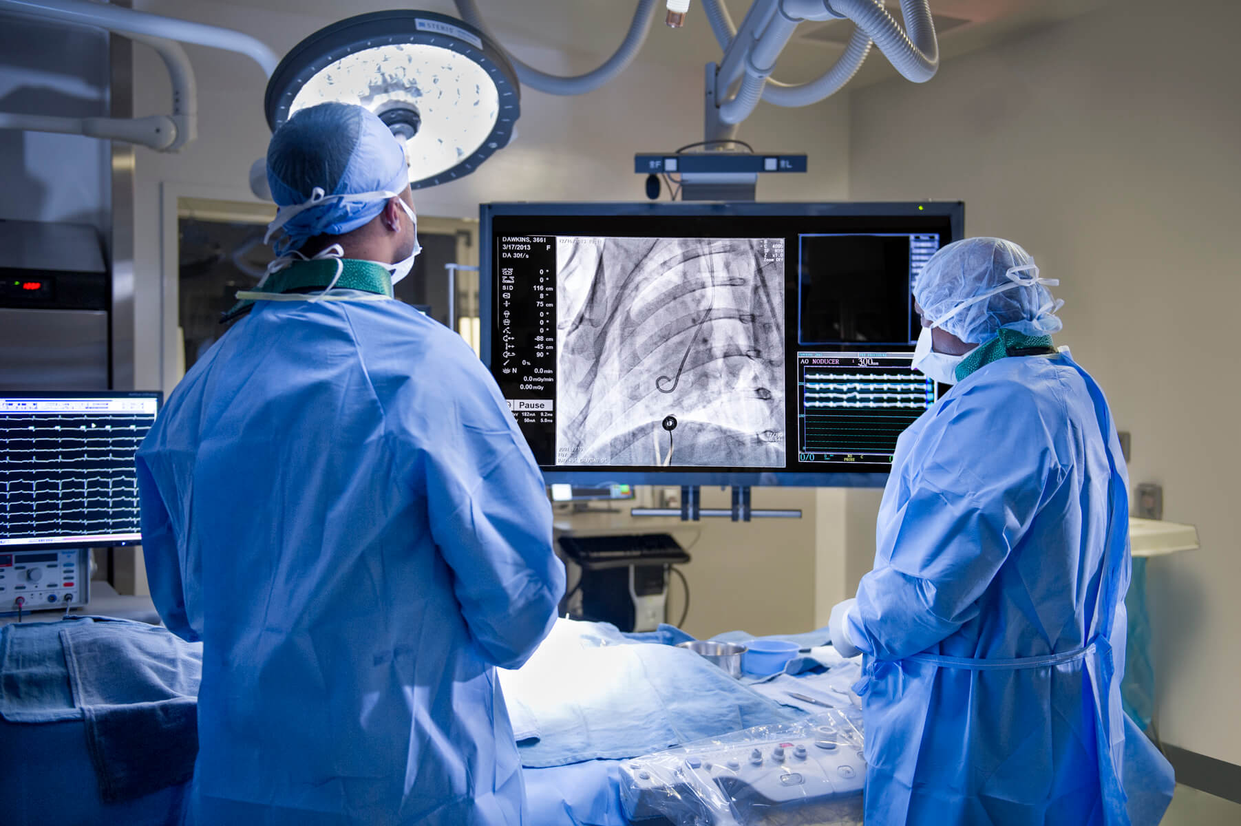 Medical Technology at Cedars Sinai Surgical Suite