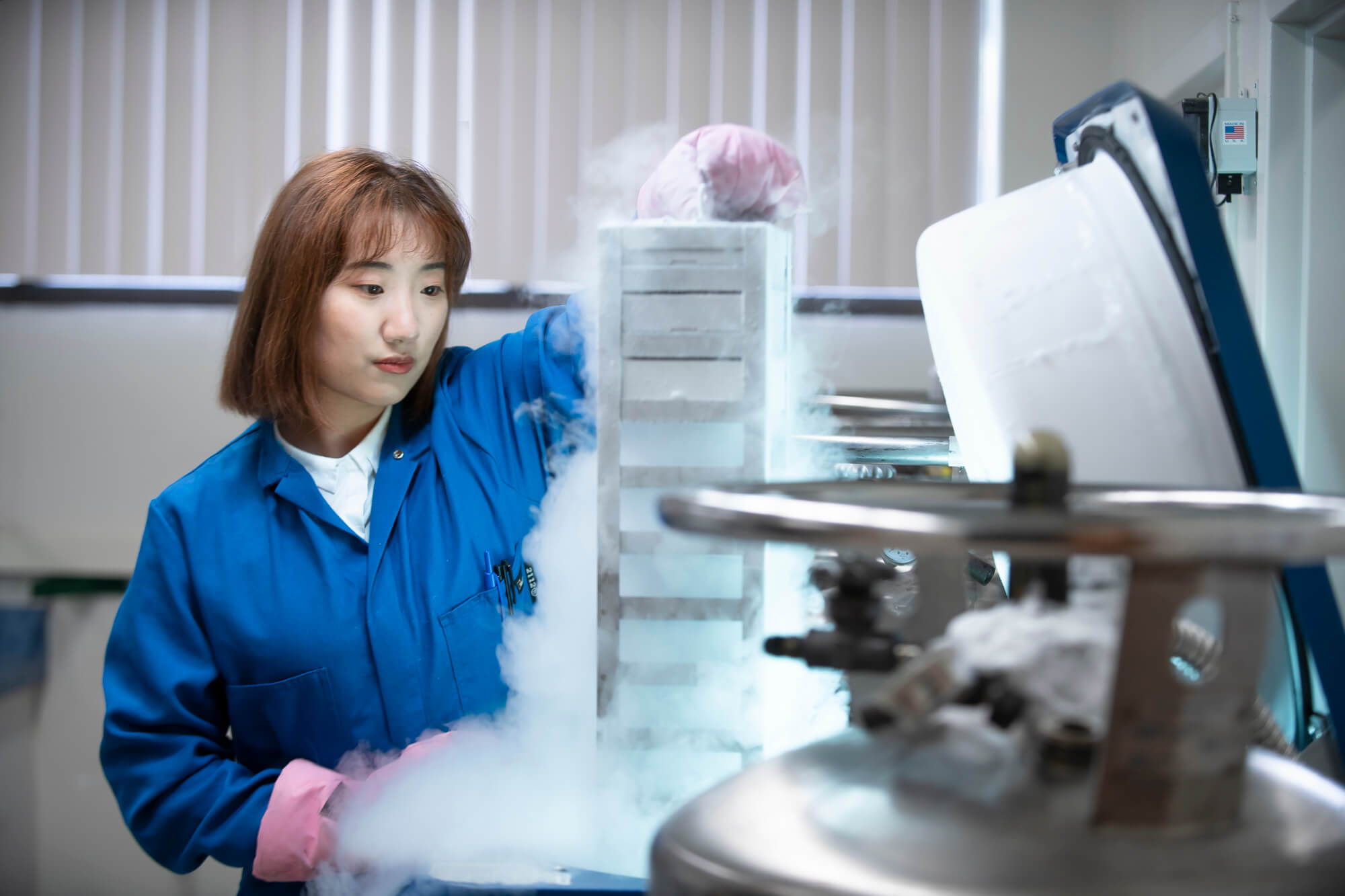 Warehouse worker at Toll Group warehouse.
